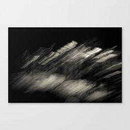 Flux (Wolf) Canvas Print