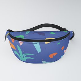 Shapes of Tropicalia / Colorful Abstraction Fanny Pack