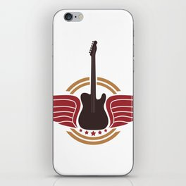 Guitar Player - Guitar Player Gift iPhone Skin