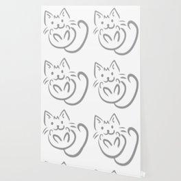 cat feline cute pet animal Wallpaper