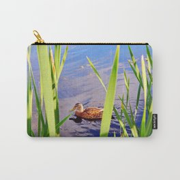 Duck Through the Reeds Carry-All Pouch