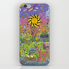PSYCHEDELIC SUNSET iPhone & iPod Skin