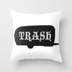 Trailer Trash 2 Throw Pillow