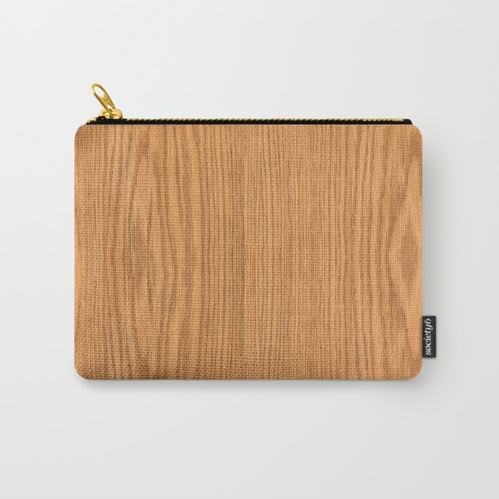 Wood 3 Carry-All Pouch