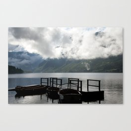 Lake after the storm Canvas Print