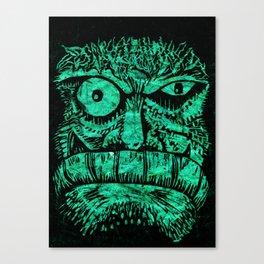 The ork inside Canvas Print