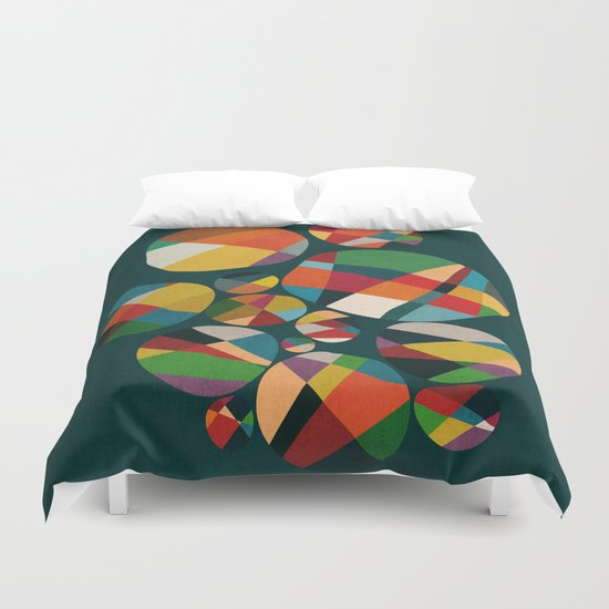 Wheel of fortune Duvet Cover