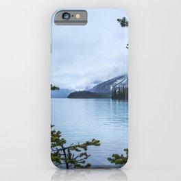 Maligne Lake    Landscape Photography   Travel Alberta   Nature iPhone Case