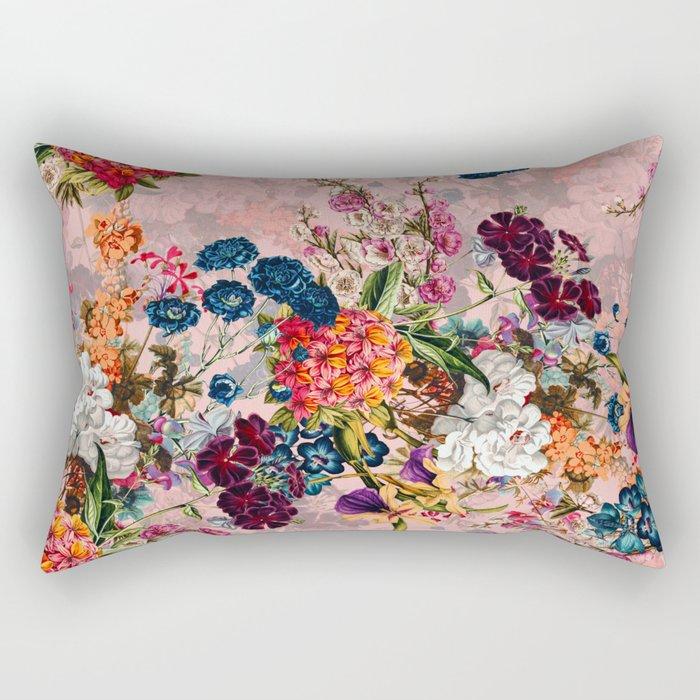 Summer Botanical Garden VIII - II Rectangular Pillow