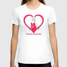 THE HEART SHE HOLLERS T-shirt