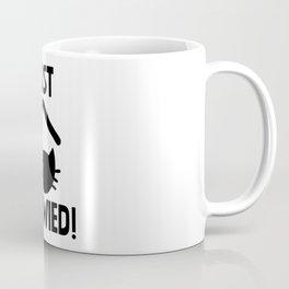 Just Married Cat Pun Coffee Mug