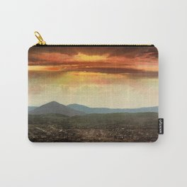Sunset from Cripple Creek, Colorado, ca. 1899 Carry-All Pouch