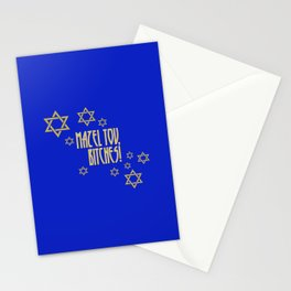 You go, girl! (blue) Stationery Cards