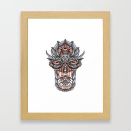 God Framed Art Print