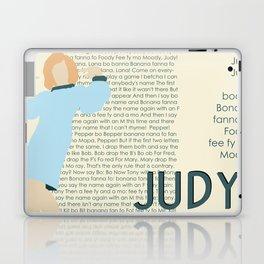 Judy Martin - Name Game w/Judy Lyrics Laptop & iPad Skin