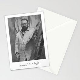 Henri Matisse Signature Portrait Stationery Cards