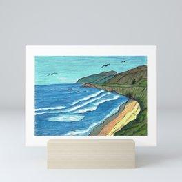 Beach Escape Sand Dollar Beach Mini Art Print