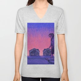 The Skateboarder Unisex V-Neck