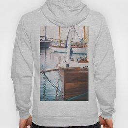 Wood Sailing Boat Hoody