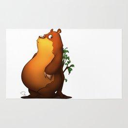 My Digital Zoo - Brown Bear Rug