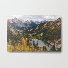 Cascades Canyon Metal Print