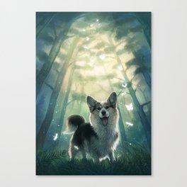 My real fantasy world Canvas Print