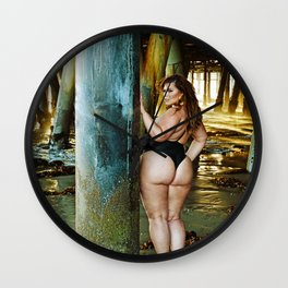 London Andrews - Santa Monica Wall Clock