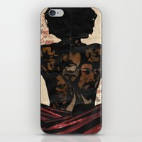 django iPhone & iPod Skins featuring Django by C.R.ILLUSTRATION