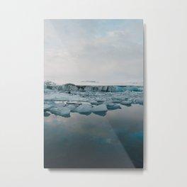 Jokulsarlon Metal Print