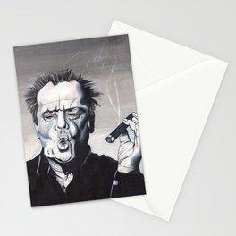 Jack Nicholson Smoke Ring Stationery Cards