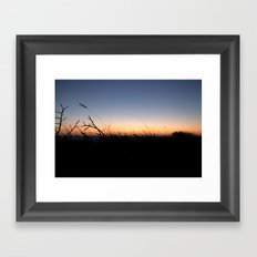 Sarasota Sunset Framed Art Print