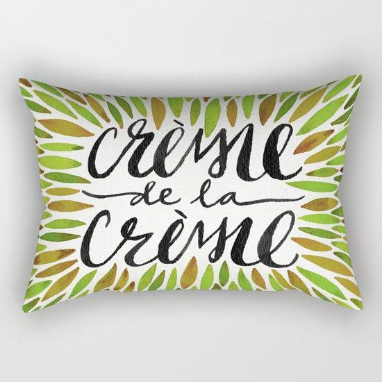 Crème de la Crème – Olive Palette Rectangular Pillow