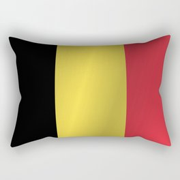 Flag of Belgium Rectangular Pillow