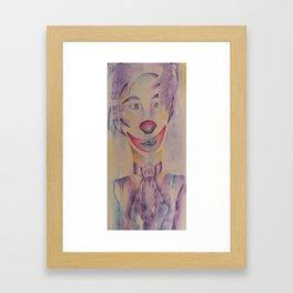 Claude Framed Art Print