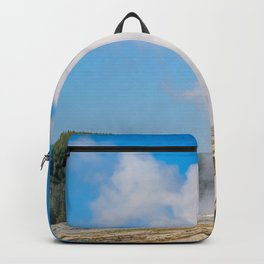 Old Faithful Geyser Yellowstone National Park Gifts Backpack