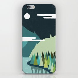 Beside The Mountains iPhone Skin