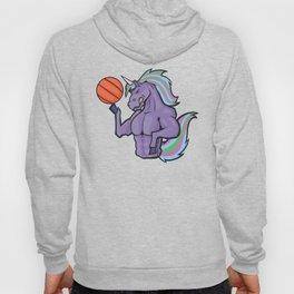 Unicorn Basketball Player Hoody