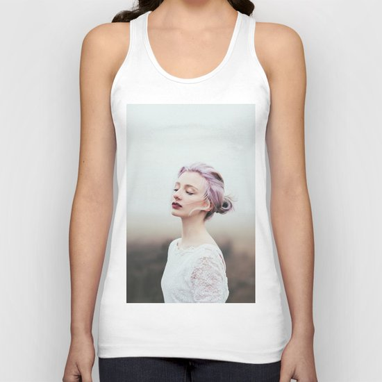 Cold and fog Unisex Tank Top