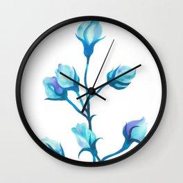 Baby Blue #2 Wall Clock