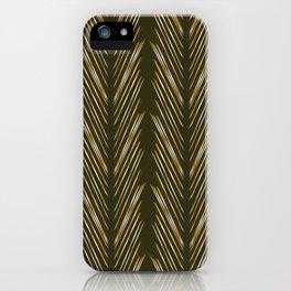 Wheat Grass Green iPhone Case