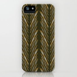 Wheat Grass Green iPhone Case