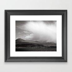 Goatfell Framed Art Print