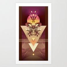 4-3-1 Art Print