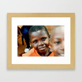 Bashir Framed Art Print