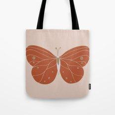 Minimalist Butterfly Art Tote Bag