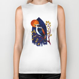 Window Bird Biker Tank