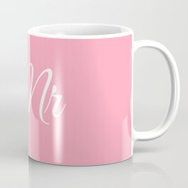Mr (Pink) Coffee Mug