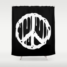 Toxic Peace Shower Curtain