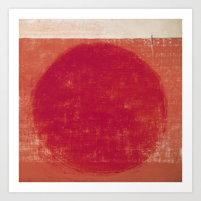 Submerged Sun Art Print