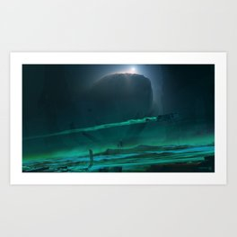 Void Sector 2.0 Art Print